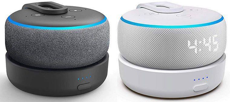 GGMM D3   tragbare Ladestation für Amazon Echo Dot (3.Gen) für 22,74€ (statt 35€)   Prime