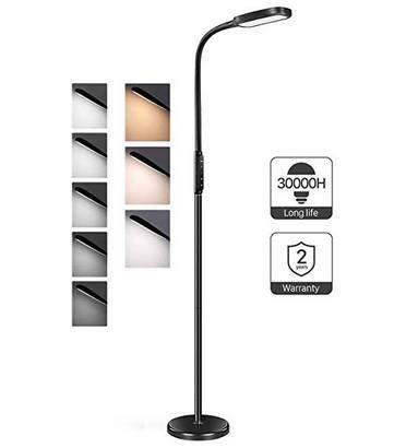 Miroco LED Stehlampe mit 5 Helligkeitsstufen & 3 Farbmodi für 31,89€ (statt 47€)