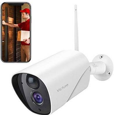 Victure PC750 1080p WLAN Außenkamera mit Nachtsicht & Bewegungserkennung für 29,99€ (statt 50€)