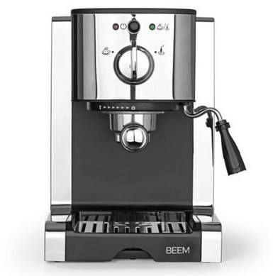 Beem Siebträgermaschine Espresso Perfect mit 20bar für 76,49€ (statt neu 126€)   B Ware