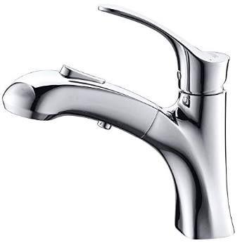 Umi Wasserhahn mit herausziehbarer Brause & Stoptaste für 45,99€ (statt 75€)