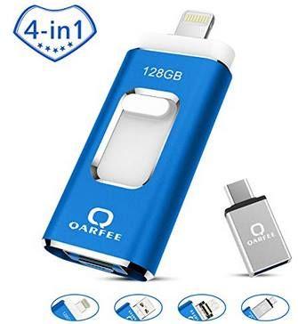 4in1 128GB USB 3.0 Stick mit USB, Lightning, Micro USB & Type C für 27,49€ (statt 50€)