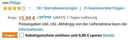 Schnell? Verschiedene Philips Mäuse ab 4,99€   Prime