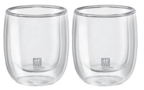 2er Set Zwilling Sorrento Doppelwandiges Espresso Glas für 11,95€ (statt 22€)