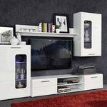 Wohnwand Zarko in Weiß oder Artisan-Eiche-Nachbildung ab je 149,99€ (statt 250€)