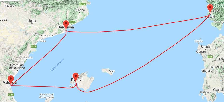 6 Tage Kreuzfahrt ab/bis Mallorca inkl. Vollpension mit der AIDAbella ab 349€ p.P.