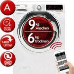 HOOVER WDXOA Waschtrockner mit 9kg (Trocknen 6kg) mit App-Anbindung für 359,91€ (statt 426€)