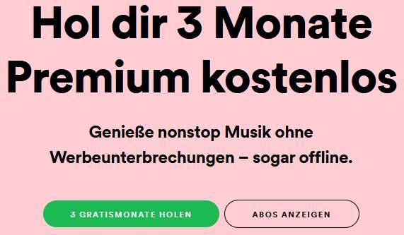 Wieder da: 3 Monate Spotify Premium Family für Neukunden gratis