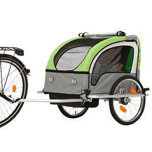 FISCHER 86388 Kinder-Fahrradanhänger für 122,99€ (statt 153€)