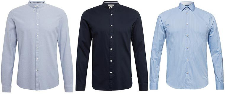 25% Rabatt auf Hemden von Marken wie Olymp, Esprit, S.Oliver   z.B.: Esprit Hemd für 15€ (statt 30€)