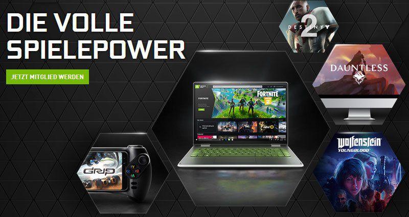 GeForce Now – Spiele überall spielen mit Game Streaming Service   3 Monate gratis
