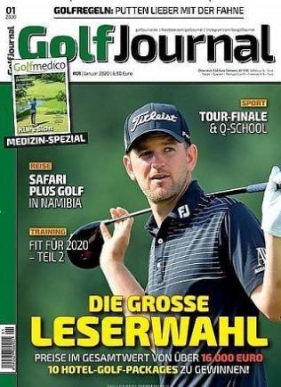 12 Ausgaben Golf Journal für 82,60€ + 75€ BestChoice Gutschein