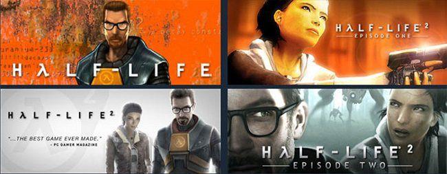 Steam: Half Life Serie kostenlos spielen (z.b. IMDb 9,4/10)