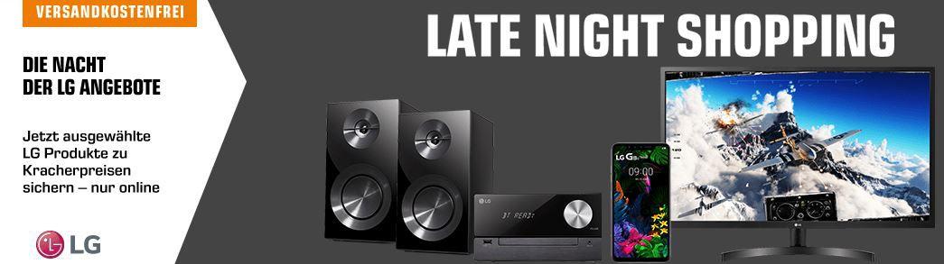 Saturn LG Late Night: z.B. LG CM2460DAB Micro Hifi Anlage für 129€ (statt 145€)