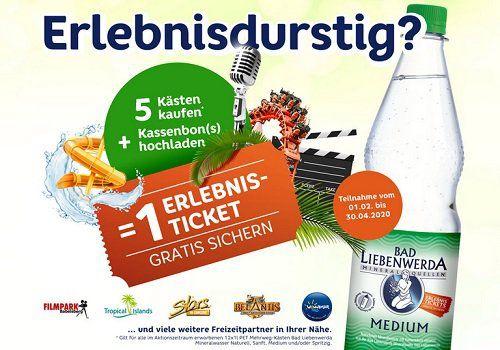 Bad Liebenwerda Mineralwasser kaufen, ein Erlebnis Ticket gratis