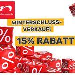 Neckermann WSV + 15% extra Rabatt auf alles ausser Technik VSK frei ab 75€ z.B. Home affaire Badmöbel-Set für 254,99€ (statt 389€)