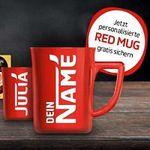 Gratis personalisierte Tasse beim Kauf von Nescafé Aktions Produkten