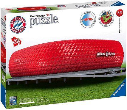 Ravensburger 3D Puzzle Allianz Arena (216 Teile) für 22€ (statt 30€)