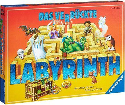 RAVENSBURGER   Das verrückte Labyrinth (26446) Brettspiel für 15€ (statt 20€)