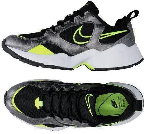 Nike Air Heights in Silber/Neon für 31,43€ (statt 44€)