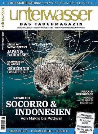 Unterwasser Jahresabo für 82,60€ + Prämie: 80€ Gutscheine