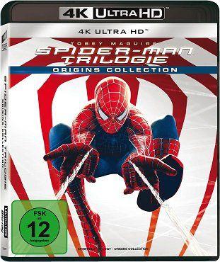 Spider Man   Trilogie auf 4K Ultra HD Blu ray für 28,99€ (statt 55€)