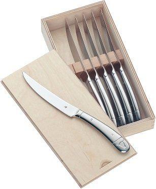WMF Steakmesser Set 6 teilig in hochwertiger Holzbox für 39,99€ (statt 54€)