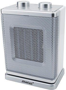 STEBA KH 4 Heizlüfter Weiß/Silber mit 1800 Watt für 23,99€ (statt 34€)