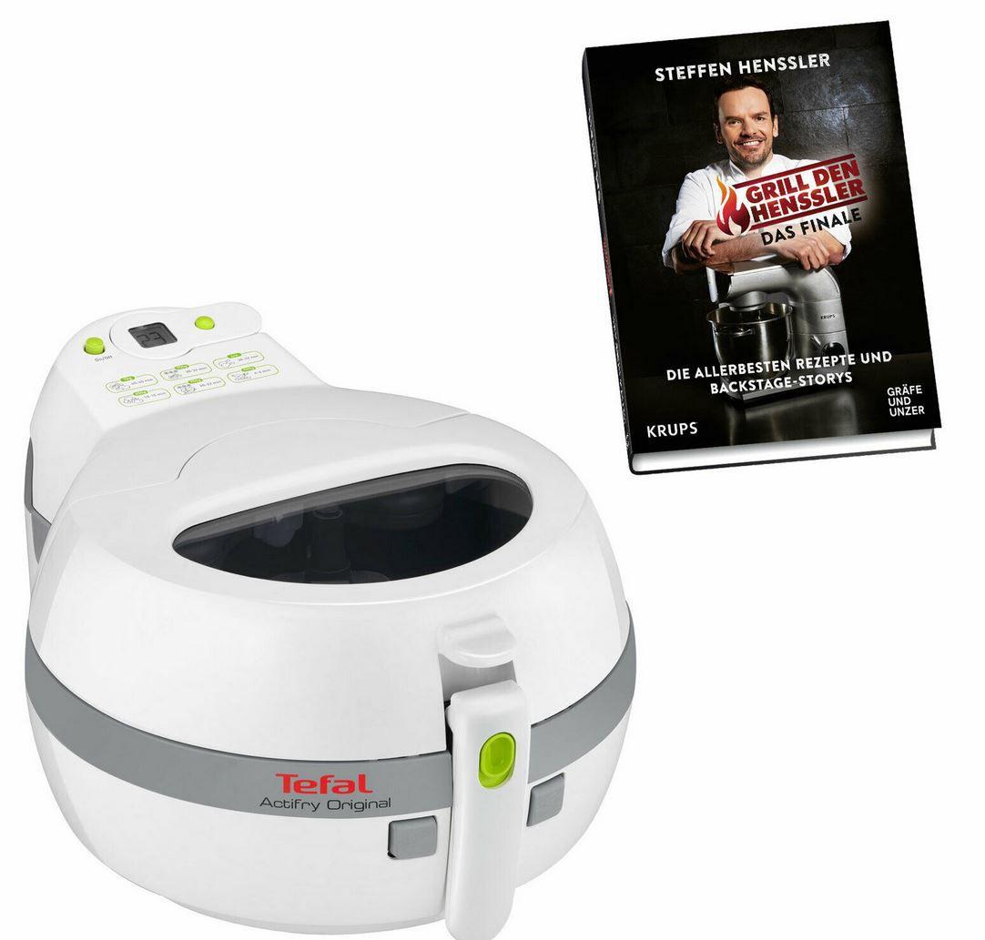 Tefal FZ 7100   1.400 Watt Heißluftfritteuse + Grill den Henssler Kochbuch für 89,91€ (statt 124€)