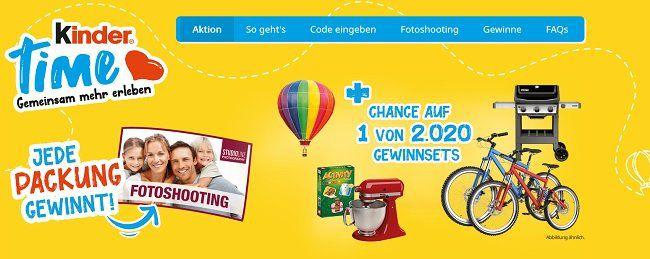 Mit Kinderschokolade gratis (statt 39€) Fotoshooting