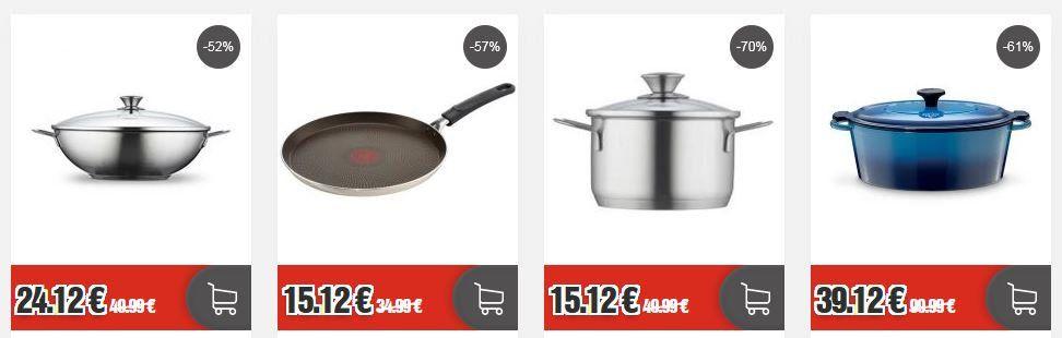 Top12 Marken Sale Out: günstige Töpfe & Pfannen