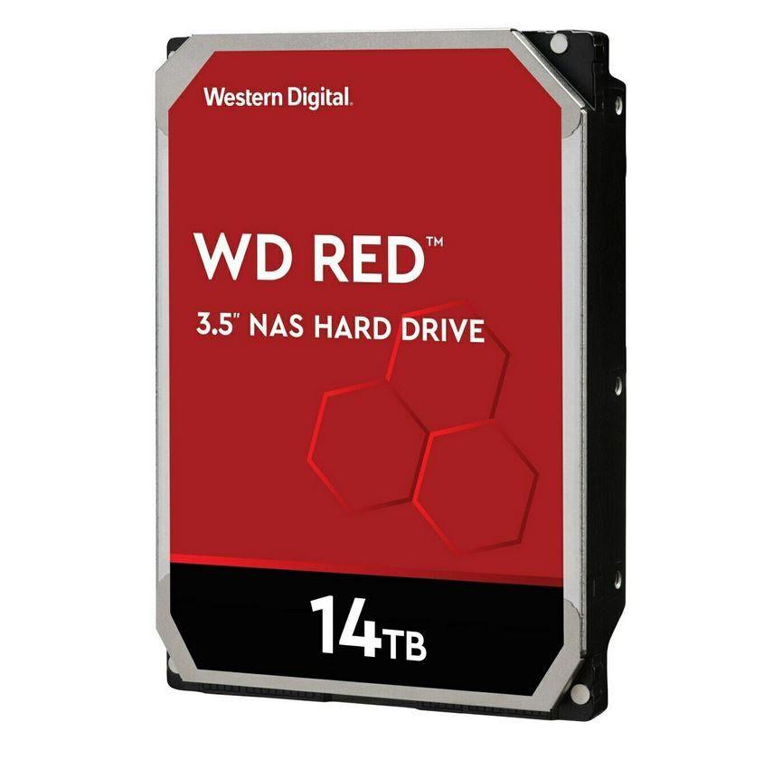 WD Red WD140EFFX   14 TB interne (NAS) Festplatte für 449,90€ (statt 494€)