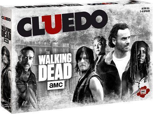 Cluedo   The Walking Dead AMC Gesellschaftsspiel für 16,99€ (statt 25€)