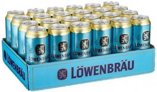 24 x 0,5 l Löwenbräu Original Helles Dosenbier (inkl. Pfand) für 17,11€ (statt 23€)