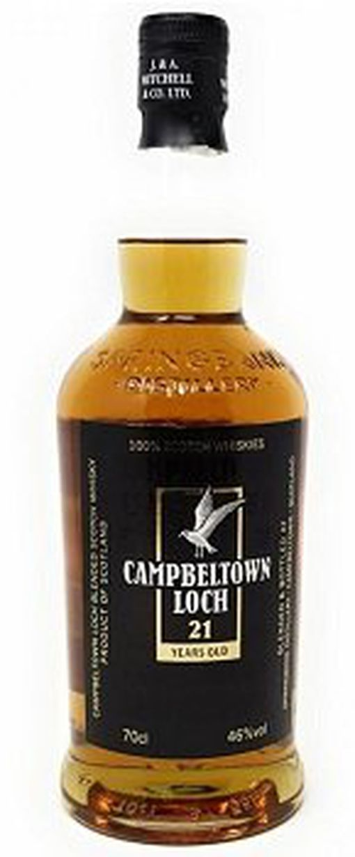 Campbeltown Loch 21 Years Old (0,7 l, 46 Vol. %) für 69,99€ (statt 82€)