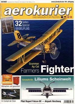 12 Ausgaben AeroKurier Flug Magazin für 78€ + 60€ Gutschein