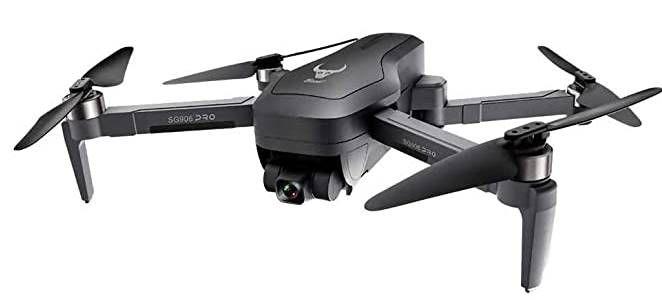 SG906 GPS Brushless 2K HD Drohne mit Controller & 25 Minuten Flugzeit mit 2 Akkus für 129,99€   aus EU
