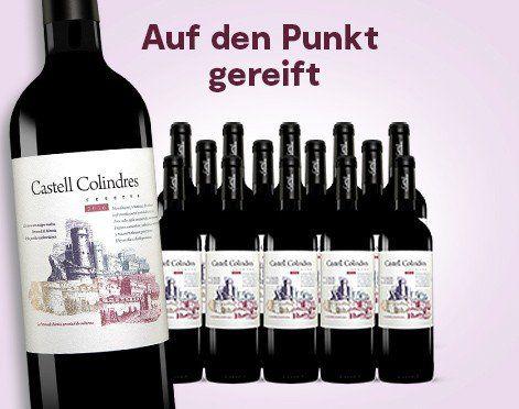 15 Flaschen Castell Colindres Reserva 2016 Rotwein für 49,41€   mit Gold prämiert