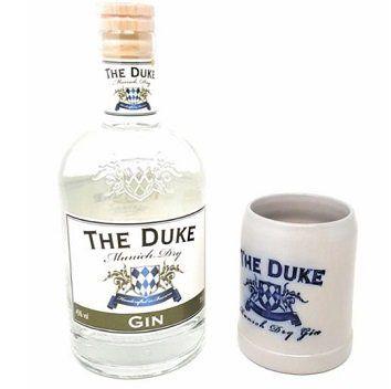 The Duke Gin Geschenkset mit Steinkrug (0,7 l, 45 Vol. %) für 25,99€ (statt 40€)