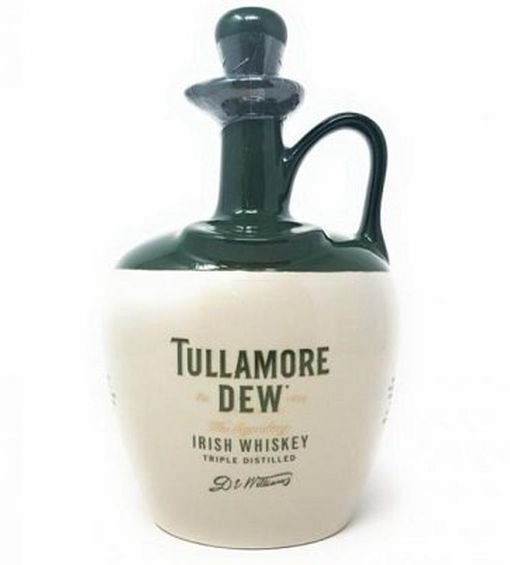 Vorbei! Tullamore D.E.W. Original Irish Blended Whiskey im Steinkrug (40 Vol. %, 0,7 l) für 29,99€ (statt 35€)
