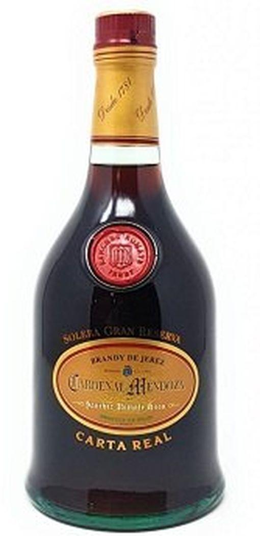 Cardenal Mendoza Carta Real Brandy de Jerez (40 Vol %, 0,7 l) für 49,99€ (statt 58€)