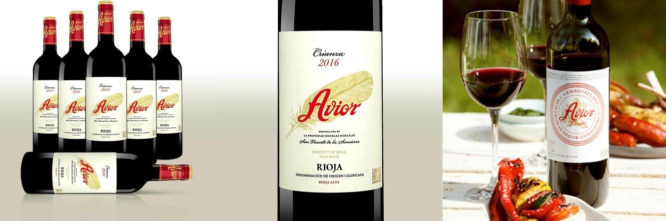 Avior Rioja Crianza 2016 spanischer Rotwein 6 Flaschen für 41,90€ (statt 72€)