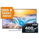 Samsung QLED 75 Zoll 4K UltraHD Smart-Fernseher für 2.699€ (statt 2.870€) + noch 400€ Saturn Gutschein