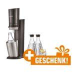 Vorbei! SodaStream Crystal 2.0 Titan mit 3 Glaskaraffen + Russell Hobbs Wasserkocher für 109€ (statt 142€)