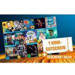 CDs, DVDs oder Blu-rays bei Saturn kaufen – pro 30€ Warenkorbwert 1 Kino-Gutschein bekommen