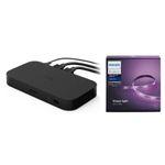 Philips Hue Play HDMI SyncBox + Hue LED-Streifen Weiß in 2 Meter für 249€ (statt 303€)