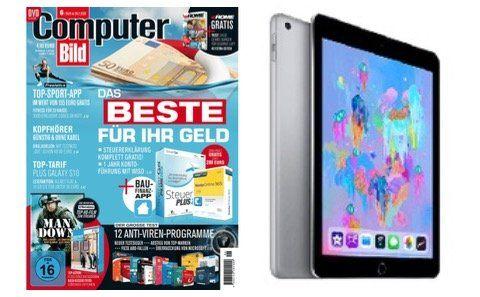 ComputerBILD Zweijahresabo für 254,80€ + Apple iPad 9.7 (2018) geschenkt
