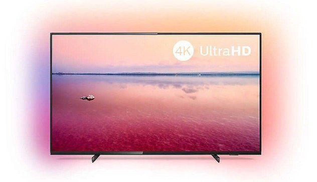 Philips 43PUS6704 43 Zoll UltraHD Fernseher mit Ambilight für 326€ (statt 359€)