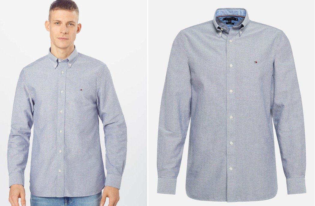 Tommy Hilfiger Crisp Oxford Herren Hemd für 53,91€ (statt 80€)   S, M, L