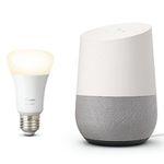 Bundle aus Google Home und Philips Hue White E27 ab 64,95€ (statt 96€)